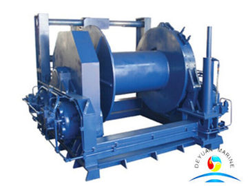 China Hydraulic Tugger Sailing Winch With Single Drum For Deck Machinary supplier
