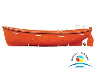 China Open Type Rescue Boats 1.2mm Durable Aluminum For Coast Guard supplier