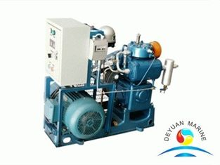 China 10 M3 / H Marine Auxiliary Machinery Low Pressure Piston Type Air Compressors supplier