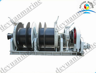 China Ship Decking Machine Sailboat Windlass With Double / Single Drum supplier