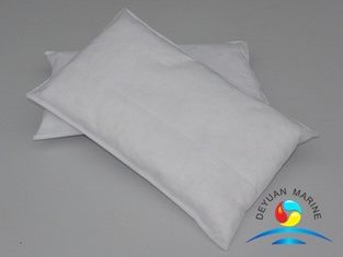 China Hot sell high quality of  CCS Marine Thickening Oil Absorbent Pillow white Marine oily pillow supplier