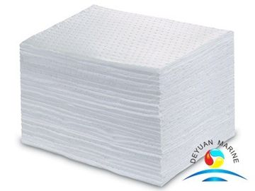 China Industrial 100% Polypropylene Fuel And Oil Absorbent Mat For Liquid Spill supplier