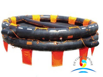 China Rubber Marine Life Saving Equipment Open Reversible Inflatable Life Raft supplier
