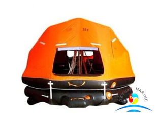 China Marine Rescue Equipment Self Righting Davit Launched Inflatable Life Raft supplier