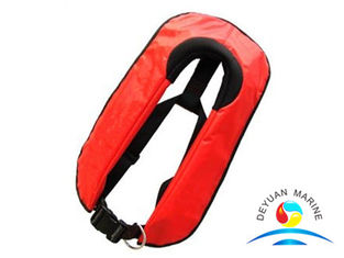 China Neck Hung 100N / 150N /  275 N Inflatable Lifejacket Life Saving Systems supplier