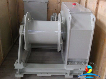 China 250 KN Mooring Hydraulic Marine Winches Towing Without Warping End supplier