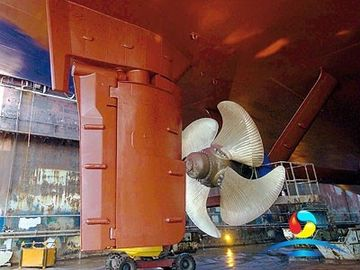 China Fork Stainless Steel Ship Marine Steering Gear Rudder Paddle DNV supplier