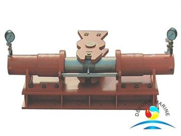 China CCS Marine Steering Gear Electric , Shifting Yoke Ship Steering Gear supplier