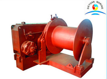 China 10 Ton Single Drum High Speed Electric Winch , Hydraulic Towing Winches supplier