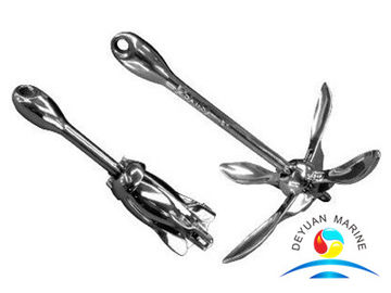 China Stainless Steel Folding Boat Anchor NK AISI 304 & 316 Material supplier