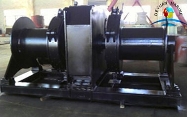 China 25 Tonness Marine Winch Double Drums Electric Explosion Proof supplier