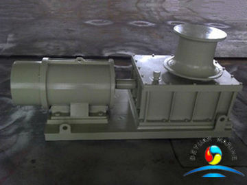 China CCS 5KN - 20KN Winch Capstan , Rope Capstan With Caliper Brakes supplier