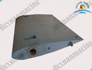 China Rudder Blade Marine Hydraulic Steering Gear Alloy Steel High Effective supplier