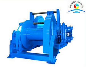 China ABS / CCS / BV / LR Class Approval Marine Winch Tugger With Level Wind supplier