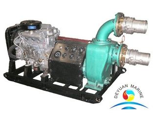 China Sea Water Cooling Diesel Engine Driven Water Pump With CCS Certificate supplier