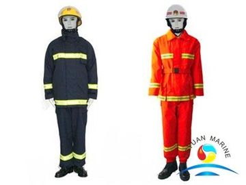 China Anti - Static Marine Fire Fighting Equipment Protection Fire Fighter Clothing supplier