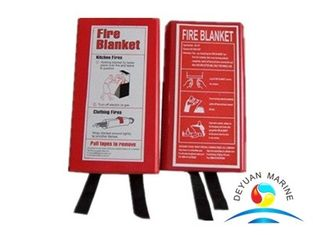 China CE Marine Fire Fighting Equipment Fiberglass Fire Proof Welding Fire Blanket supplier