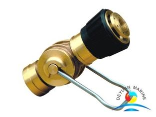 China 3 Position Brass Marine Fire Fighting Equipment Fire Spray Nozzle supplier