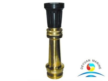 China Lead Brass Fire Fighting Tools Spray Jet Fire Hose Nozzles CCS supplier