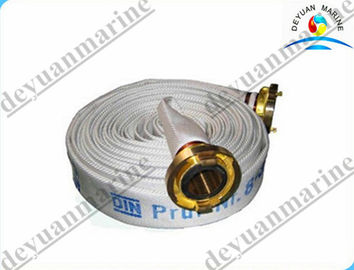 China Nature Rubber Marine Fire Fighting Equipment EPDM Lined Fire Hose supplier