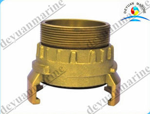 China Brass French Type Fire Fighting Equipment Fire Hose Coupling With Storz Female supplier