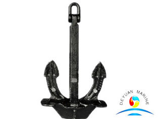 China Stockless Anchor Marine Mooring Equipment Steel Casting Black supplier