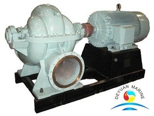 China Double Suction Mid - Open  Marine Water Pump Horizontal Centrifugal supplier