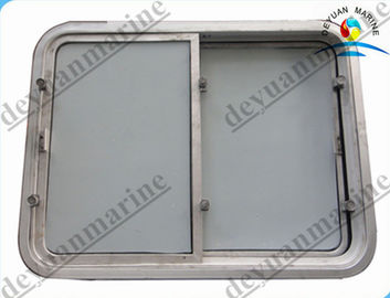 China Aluminium Marine Outfitting Equipment Watertight Sliding Window supplier