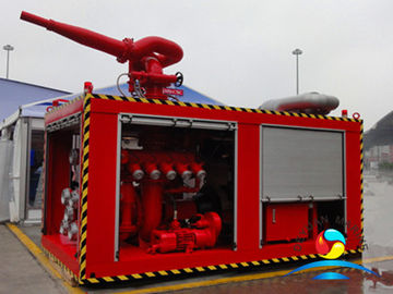 China Remote Control Fire Suppression Systems Diesel Engine For Boat supplier