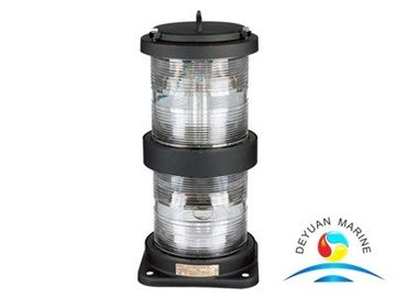 China Double - Deck Marine Electric Equipment Stainless Steel Navigation Signal Light supplier