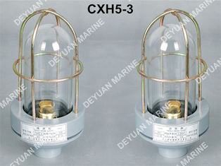 China Plastic Marine Electric Equipment Navigation Signal Head Light CXH5 - 3 supplier