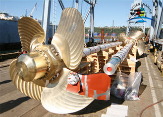 China Copper Controllable Boat Parts , Pitch Propeller Marine Propulsion Engine supplier