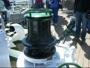 China Electric Warping Hawser Marine Capstan With ABS / DNV Certificate supplier