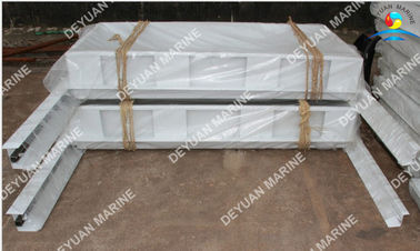 China Locked Outfitting Equipment Aluminium Hollowed Cabin Door For Boat supplier
