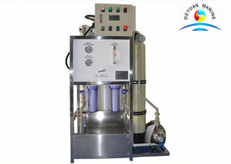China CCS Approved Automatic Marine Fresh Water Generator For Water Purifier supplier