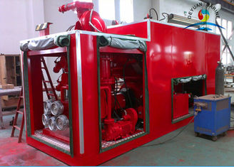 China FIFI 1 2400 m3 / h Marine External Fire Fighting System For Ship supplier