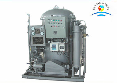 China Compact 0.5 M3 / H Oily Bilge Water Separator Oil Water Separator In Ship supplier