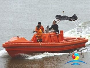 China Working Rescue Boats 1.2mm Durable Aluminum For Coast Guard supplier