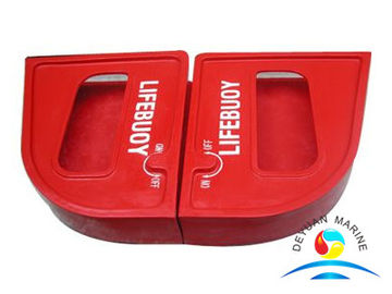 China Lifebuoy Marine Rescue Equipment Quick Released Box GRP Material supplier