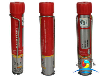 China Bright Red Light Marine Flares Emergency Red Hand Held Flare supplier
