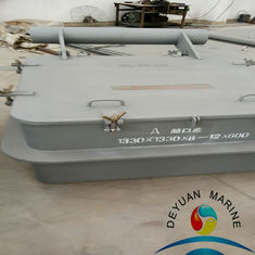 China Buffery Clip Ship Hatch Cover With Marine Steel / Aluminium Material supplier