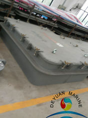 China Single Side Open / Close Non Weathertight Outfitting Equipment Hatch Cover with Butterfly Clip supplier