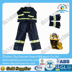 China Waterproof Fire Fighter Gear Fire Suit Jacket And Pants With Flame Retardant Layer supplier