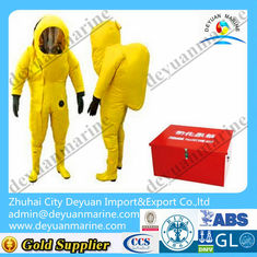 China Lightweight Marine Fire Fighting Gear Fireman Chemical Protective Clothing supplier