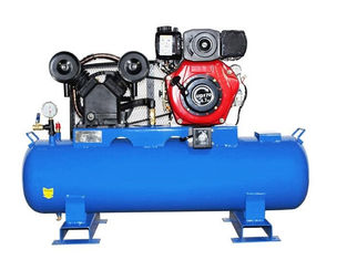 China Diesel Air Compressor Portable Piston Air Compressor Marine Auxiliary Machinery supplier