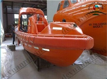 China International Orange FRP SOLAS Rescue Boats With CCS BV ABS GL Approved supplier