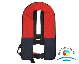 China Life Saving Nylon Waterproof Automatic Inflatable Life Jackets For Adult supplier