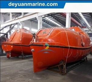 China 6.5m F. R. P. Totally Enclosed Lifeboat Marine Safety Equipment For 6- 60 Person supplier