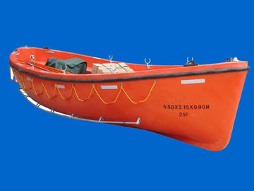 China 6 - 8 Meters Rescue Boats SOLAS Fiberglass Reinforced Open Type Lifeboats With CCS supplier