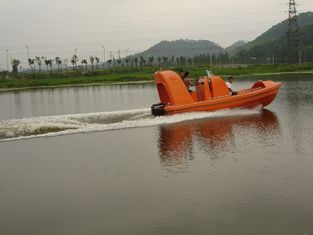 China 6 Persons Fast Rescue Boats GRP Lifeboats Reinforced Fiberglass Material with high quality good price supplier